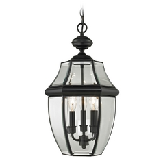 Cornerstone Lighting Ashford Black Outdoor Hanging Light