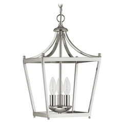 Capital Lighting Polished Nickel Pendant Light