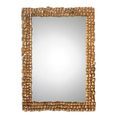 Uttermost Carasco Antiqued Gold Wall Mirror