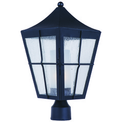 Maxim Lighting Revere Black Post Light