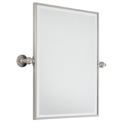 Minka Lighting Rectangle 18-Inch Mirror 1440-84