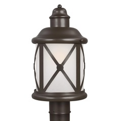 Sea Gull Lighting Lakeview Antique Bronze LED Post Light