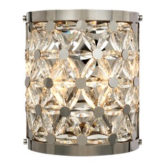 Maxim Lighting Cassiopeia Polished Nickel Sconce