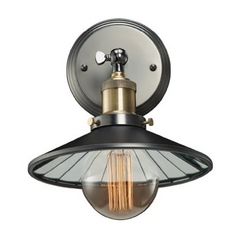 Sconce Wall Light in Antique Pewter Finish