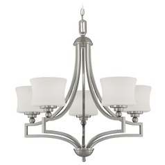 Savoy House Satin Nickel Chandelier