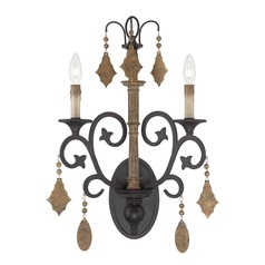 Savoy House Lighting Aragon Penate Gold Sconce