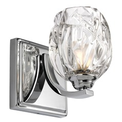 Feiss Lighting Kalli Chrome LED Sconce