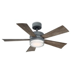 Modern Forms Graphite 42-Inch LED Smart Ceiling Fan 1600LM 3000K