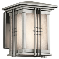 Kichler Outdoor Wall Light in Stainless Steel Finish