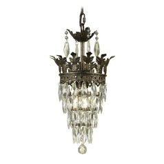 Swag Mini-Chandelier Light