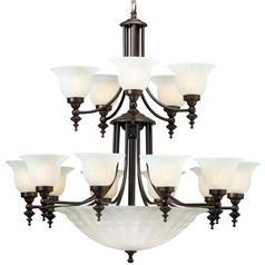 Dolan Designs Lighting Eighteen-Light Chandelier 668-30