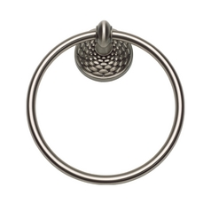 Towel Ring in Brushed Nickel Finish