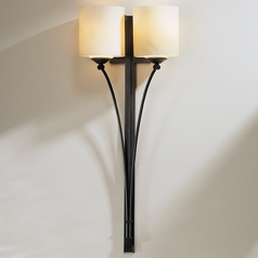 Hubbardton Forge Lighting Formae Dark Smoke Sconce