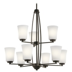 Transitional Chandelier Olde Bronze Tao by Kichler Lighting