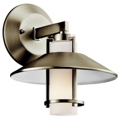 Kichler Lighting Sconce with White Glass 42817NI