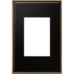 Legrand Adorne Oil-Rubbed Bronze 1-Gang 3-Module Switch Plate