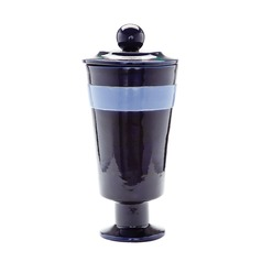 Navy And Denim Polar Vase - Large