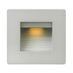 Hinkley Lighting Luna Titanium LED Recessed Step Light