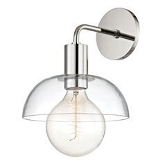 Kyla Polished Nickel Sconce Mitzi by Hudson Valley