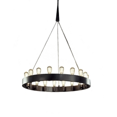 Robert Abbey Lighting 18-Light Vintage-Style Chandelier Z2091