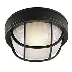 Craftmade Lighting Bulkhead Matte Black Close To Ceiling Light