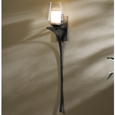 Hubbardton Forge Lighting Antasia Dark Smoke Sconce