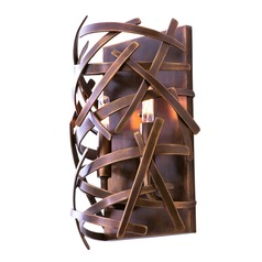 Kalco Ambassador Copper Patina Sconce