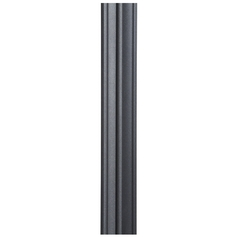 Seven Foot Black Post for Post Lights