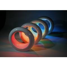 Cielux Lighting LED Light Rainbow Color Changing Accent Lamp LUNE