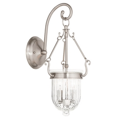 Livex Lighting Coventry Brushed Nickel Sconce