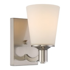 Nuvo Lighting Laguna Brushed Nickel Sconce