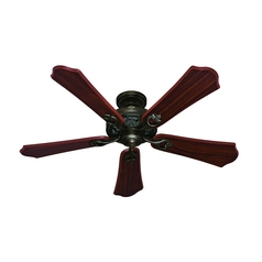 Hunter Fan Company Kingsbury Roman Bronze Ceiling Fan Without Light