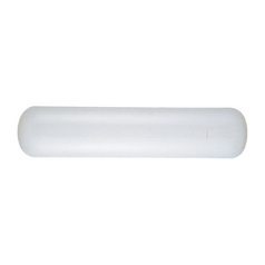 Bathroom Light with White Plastic Lens - 26-3/4-Inches Wide
