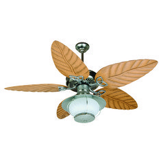 Craftmade Lighting Outdoor Patio Fan Galvanized Ceiling Fan with Light