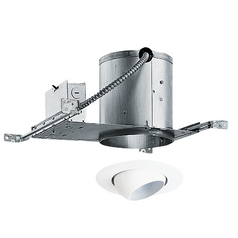 6-inch Recessed Lighting Kit with Eyeball Trim