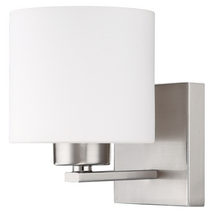 Capital Lighting Brushed Nickel Sconce