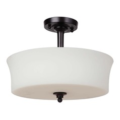 Craftmade Lighting Helena Oiled Bronze Semi-Flushmount Light