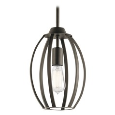 Transitional Pendant Light Olde Bronze Tao by Kichler Lighting