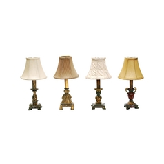 Set of 4 Accent Table Lamps