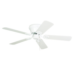 Craftmade Lighting Wyman White Ceiling Fan Without Light