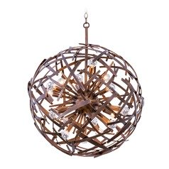 Kalco Ambassador Copper Patina Pendant Light
