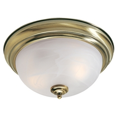 Livex Lighting Regency Antique Brass Flushmount Light