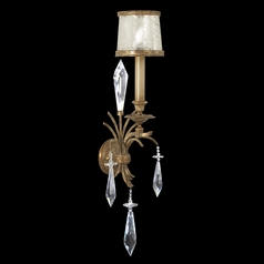 Fine Art Lamps Monte Carlo Gold Leaf Sconce