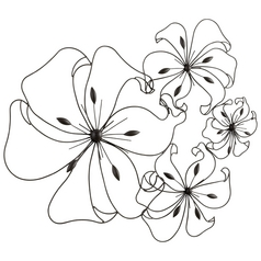 Cyan Design Fancy Flower Graphite Wall Art