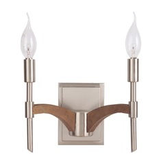 Craftmade Lighting Tahoe Brushed Nickel/whiskey Barrel Sconce
