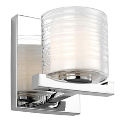 Feiss Lighting Volo Chrome LED Sconce