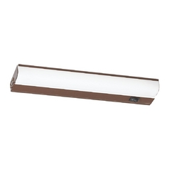 Sea Gull Lighting Sea Gull Lighting Painted Antique Bronze 12.5-Inch Linear Light 49090BL-171
