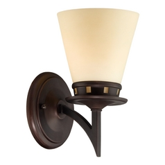Lite Source Lighting Erina Aged Bronze Sconce