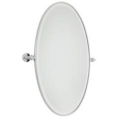 Oval 21-1/2-Inch Mirror