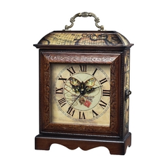 Sterling Lighting Clock in _ Finish 118-006